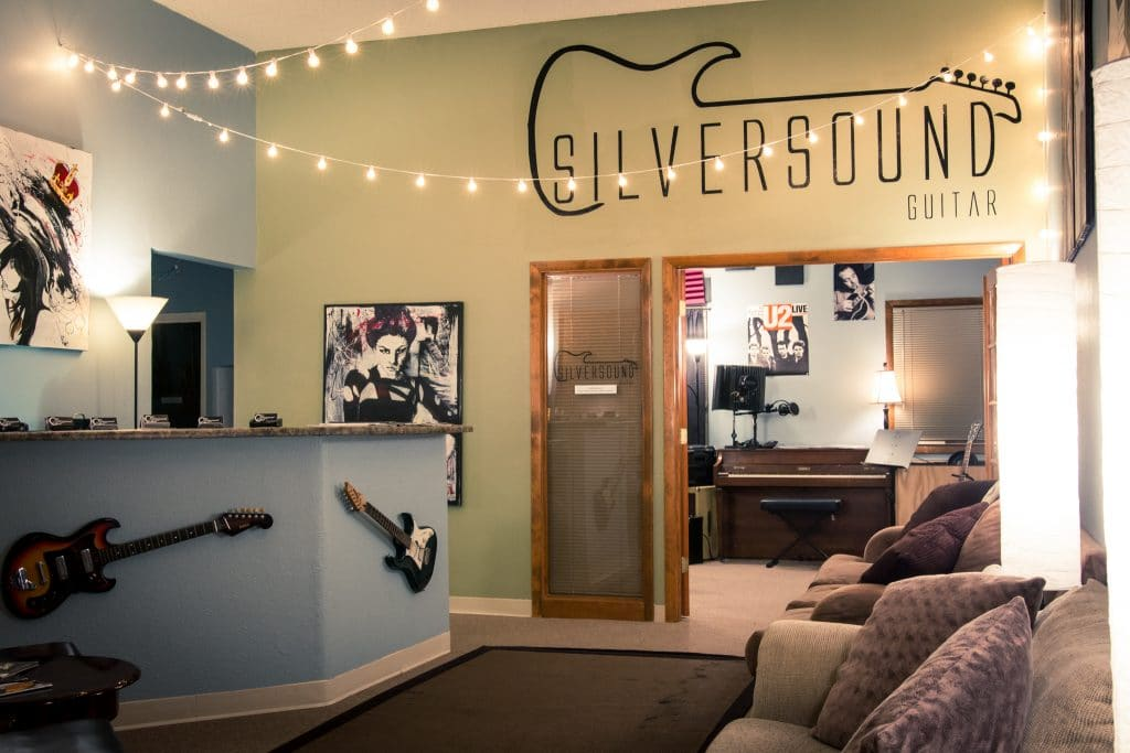 Silversound Guitar Lessons Office